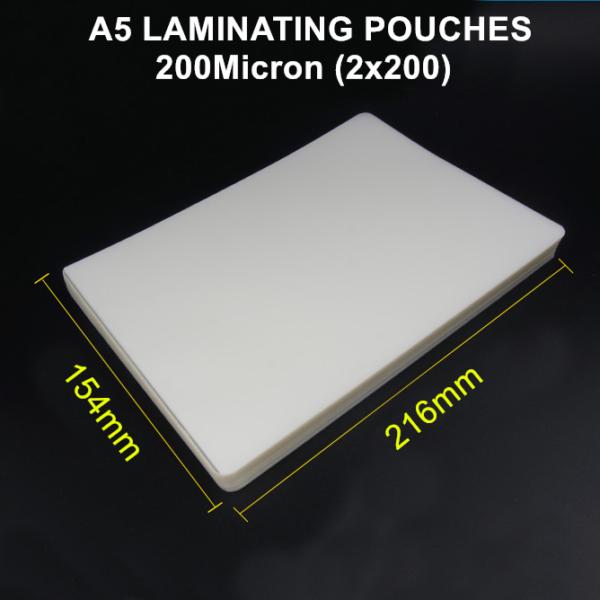 A5 /& A4 Gloss Laminating Pouches